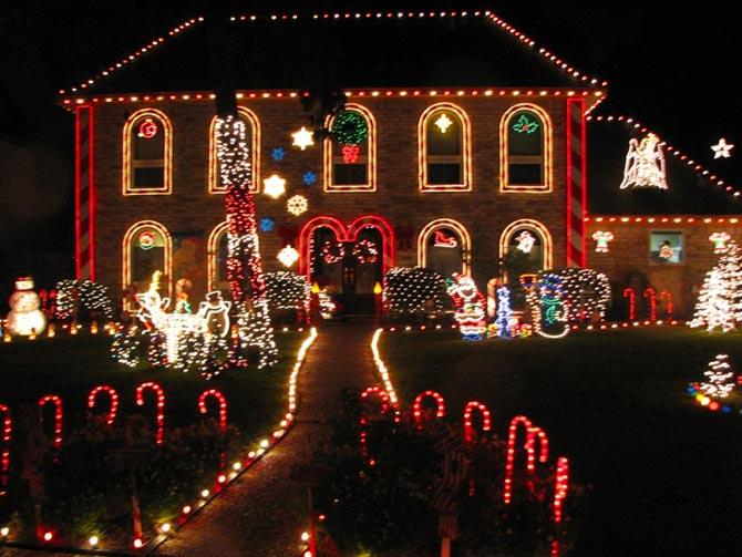 prestonwood forest houston texas Christmas lights